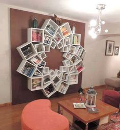 Interesting Book Shelf
