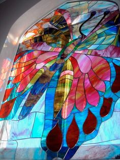 Butterfy ~ by simply stained glass UK