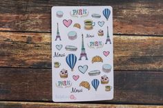 Paris In Spring Themed Planner Stickers by BellaRosePaperCo #paris #spring #bellarosepaperco #planneraddict #easter