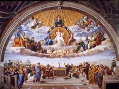 Raphael - La Dispute du Saint Sacrement