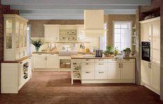 Moderne Landhausküche mit großzügiger Kochinsel Unser Traum vom ...