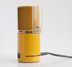 designbinge:  BRAUN desk fan HL 70 / HL70 in orange INCL. STAND Dieter RAMS Panton era