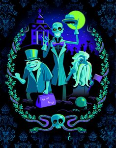 mary blair haunted mansion - Google Search