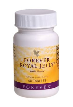 Forever Living - Forever Royal Jelly. Enhances metabolism, eliminates fatigue, has great benefits for the skin and reduces the effects of ageing. Contains protein, minerals, vitamins A, C, D, E and B-complex, all 8 essential amino acids and 10 secondary amino acids. http://www.beforeverfree.myforever.biz/store