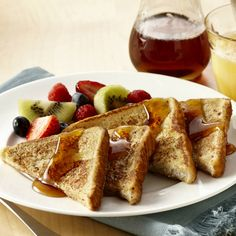 (I used 2 eggs.) Vanilla extract and cinnamon bring a richness of flavor to French toast. Pick your favorite bread - white, Italian, French or whole wheat. Serve with Maple-Flavored Syrup.