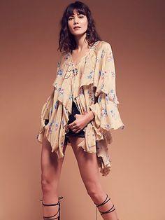 Product Image: Monet Silk Flutter Cape