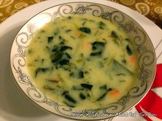 11 – Çorba Tarifleri – The Most Practical and Easy Recipes No Gluten Diet, Soup Recipes, Cooking Recipes, Classic Caesar Salad, Spinach Soup, Good Food, Yummy Food, Greek Cooking, Recipe Mix