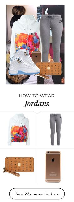 """Untitled #628"" by westcoke on Polyvore featuring adidas, NIKE and MCM"