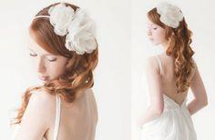 Những mẫu phụ kiện cài tóc cho cô dâu 2013