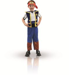 Costume Jake il Pirata Rubie's I-881214TOD- Taglia 2-3 Anni Papers & Dreams