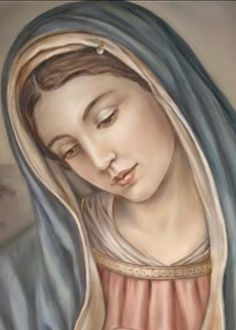 Holy and blessed mother Mary Blessed Mother Mary, Divine Mother, Blessed Virgin Mary, Mother Teresa, Religious Pictures, Jesus Pictures, Catholic Art, Religious Art, Virgin Mary Art