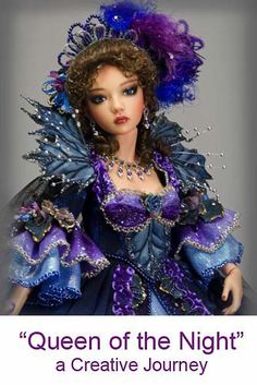 This site has lots of tutorials for dolls. _I think I can alter some of these for different siized dolls