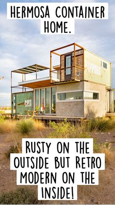 Container Van House, Building A Container Home, Container Buildings, Container Architecture, Container House Design, Modern Small House Design, Small House Interior Design, Caribbean Homes, Building A Cabin