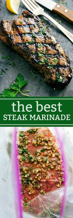 How to grill the most delicious, juicy, and tender steak! Plus, an insanely good steak marinade recipe. The boys have been playing outside pretty much nonstop. We don't have our yard in yet and they