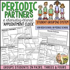 A brief periodic table trends activity for high school and genchem appointment clock chemistry themed for grouping students periodic partners urtaz Gallery
