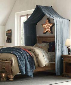 Романтичная спальня: 17 кроватей с балдахинами