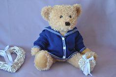 Little sailor girl cardigan
