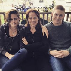 Tumblr New Pic of Kristen on the set of Billy Lynn's Long Halftime Walk