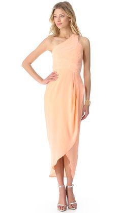 Zimmermann One Shoulder Maxi Dress $475