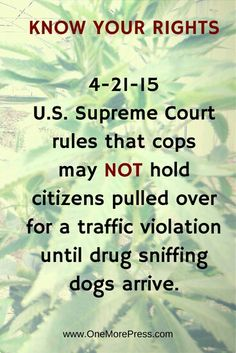 KNOW YOUR RIGHTS! I DIDN'T KNOW THIS!✌