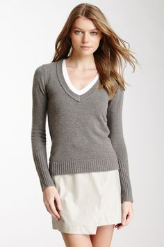 Blouses, Shirts, and Sweaters #2- V-Neck Sweater