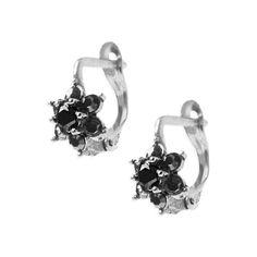 Flower Burst Sterling Silver Earrings - Armenian Jewelry