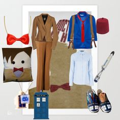 """11th doctor"" by thegirlwhono-oneknows on Polyvore"
