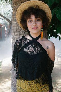 Alia Shawkat at Coachella 2015
