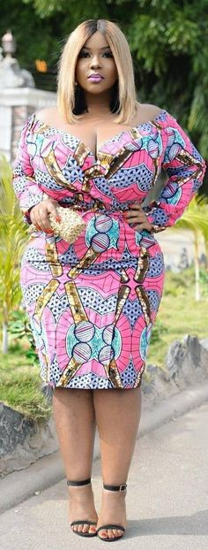 301693fe64f Best Collection of Plus Sized Women Ankara Gown - WearitAfrica African  Dress