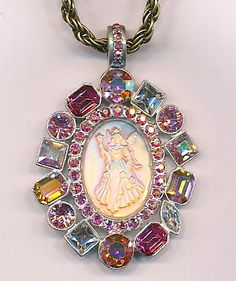 57) Fairy Godmother Dreamstone Pendant Necklace http://KirksFollyStore.com/necklaces/