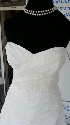 Enzoani Blue Wedding Dress Size 16 brand new with tags Blue Wedding Dresses, Wedding Dress Sizes, Enzoani Blue, Bridal Suite, Size 16 Dresses, Mother Of The Bride, Wedding Accessories, One Shoulder Wedding Dress, Tags