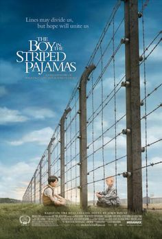 Stunning! The Boy in the Striped Pajamas. Set during World War II, a story seen through the innocent eyes of Bruno, the eight-year-old son of the commandant at a concentration camp, whose forbidden friendship with a Jewish boy on the other side of the camp fence has startling and unexpected consequences.