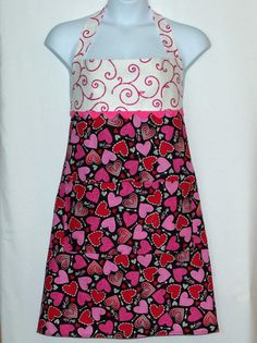 Sexy Valentine Plus Size Apron Custom With Name by AGiftToTreasure