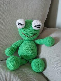 The frog Amigurumi