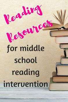 4 Awesome Middle School Reading Resources – Adventures in Inclusion 4 Great reading resources for reading intervention Middle School Libraries, Education Middle School, Middle School Reading, Middle School Classroom, Special Education Classroom, Reading Resources, School Resources, Parent Resources, Reading Strategies