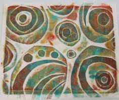 Approachable Art by Judi Hurwitt:   Judi Hurwitt experiments with Joan's newest tutorial on layered texture plates... using  copy paper, deli paper and fabric! Check out her great results!