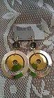 ROBERT LEE MORRIS ROUND DROP EARRINGS (DARK GREY, GOLD, SILVER TONE METAL) - Dark, Drop, Earrings., Gold, Grey, Metal, MORRIS, ROBERT, Round, silver, tone - http://designerjewelrygalleria.com/designer-jewelry-galleria/robert-lee-morris-round-drop-earrings-dark-grey-gold-silver-tone-metal/