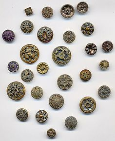 Twinkle Buttons (Stash Sunday) by cj33, via Flickr