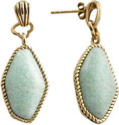 FINE JEWELRY Art Smith by BARSE Blue Amazonite Drop Earrings