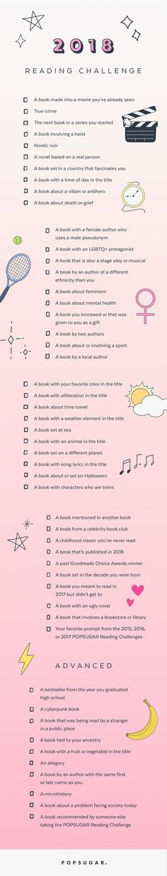 I've never done a reading challenge. I'm so going to take on this reading challenge in 2018!