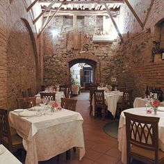 Antica Osteria Da Divo in Siena, Italy--site of the best dinner I've ever had