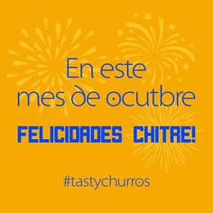 Es por eso que en @tastychurros no nos quedamos atrás y vamos a celebrar juntos todos estos días! #tastychurros #panama #pty #herrera #chitre #azuero #tasty #tastyfood #celebrate #postresenpanama #degustapanama #comidapanama #churros #churro #sweet #food #foodporn #october  Yummery - best recipes. Follow Us! #tastyfood