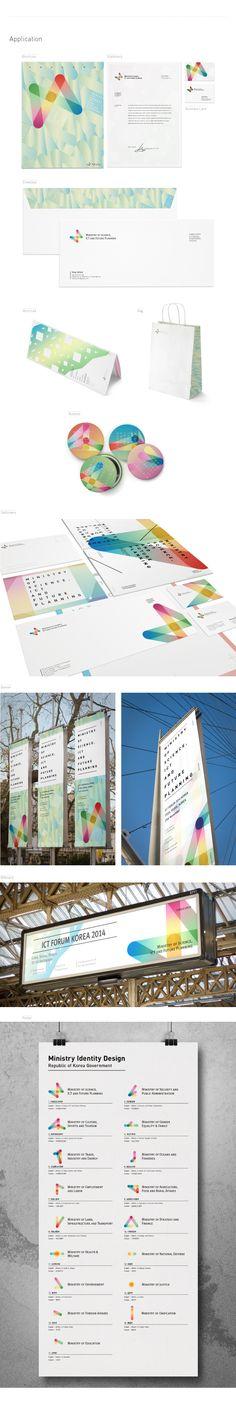 Republic of Korea Ministry Identity Design on Behance