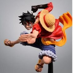 One Piece Luffy Anime Action Figure PVC New Collection figures toys Collection for Christmas gift - One stop Anime Shop One Piece Anime, One Piece Ex, One Piece Luffy, Monkey D Luffy, Dragon Ball Z, Dbz, Figurine One Piece, One Piece Figuras, Action Figure One Piece