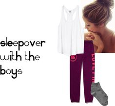 """sleepoverrrr"" by one-direction-outfits-1101 on Polyvore"