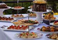 high-tea - Delicious high teas are served in the afternoons or upon request