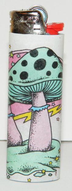 80's Style Shroom Lighter by needfullittlethings on Etsy, $3.00