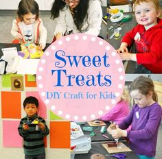 Most kids love dessert, and they will love this sweet treat craft!