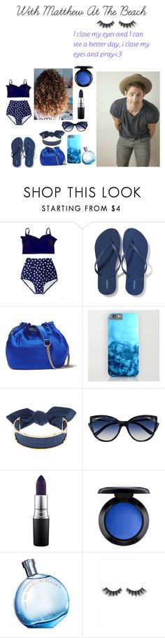 """""""Untitled #313"""" by queenprincessbieber ❤ liked on Polyvore featuring beauty, Old Navy, Diane Von Furstenberg, Monica Sordo, La Perla, MAC Cosmetics, Hermès and Violet Voss"""