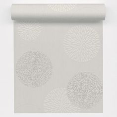 Papier peint vinyle expans sur intiss spot bulles blanc larg m le - Leroy merlin papier bulle ...